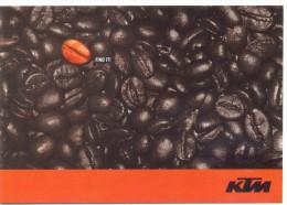 PROMOCARD N°  8309   KTM TEMPORARY CAFE - Pubblicitari