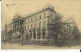 Courtrai -- Le  Palais  De  Justice.   (2 Scans) - Kortrijk