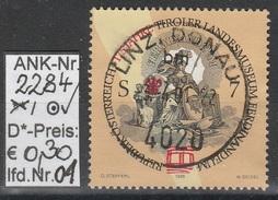 """15.5.1998 -  SM  """"175 Jahre Tiroler Landesmuseum Ferdinandeum""""  -  O  Gestempelt  -  Siehe Scan  (2284o 01-06) - 1991-00 Gebraucht"""