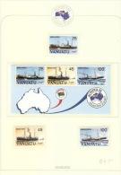 Vanuatu 1984 Ausipex Set & MS MNH - Vanuatu (1980-...)