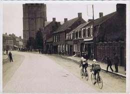 Photo. À WORMHOUT Le TOUR De FRANCE 1927 Étape Charleville-Dunkerque MAGNE Et Julien MOINEAU. Ardennes. - Wormhout
