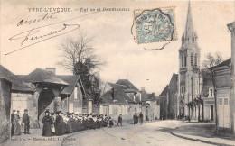¤¤  -     YVRE-L'EVEQUE   -  Eglise Et Pensionnat    -  ¤¤ - Non Classificati