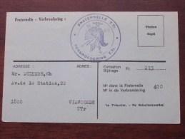 FRATERNELLE - VERBROEDERING ( U.F.A.C. / V.O.V.) LIDKAART ( N° 13676 ) 1977 ( Zie Foto´s Voor Details) ! - Documents