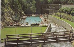 The Hot Swimming Pool, Radium Hot Springs, Aquacourt, RADIUM HOT SPRINGS, B.C., Canada, 1940-1960s - British Columbia