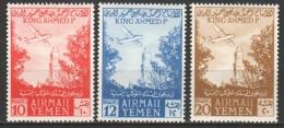 Yemen 1954 Mi 153-155 MH - Ducks