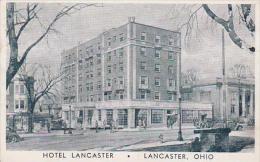 Ohio Lancaster Hotel Lancaster 1941 Albertype