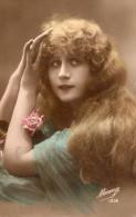 VRAIE PHOTO D´ART : Jolie Femme Aux Cheveux Dénoués - Femmes