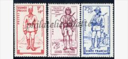 -Guinée  169/71** - Nuovi