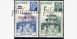 -Guinée  185/86** - Nuovi