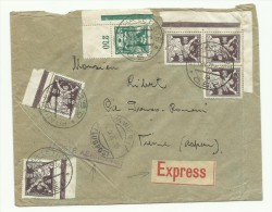 1922: Lettre Voyagée Par Avion De Prague Pour Vienne, En Exprès - Czechoslovakia