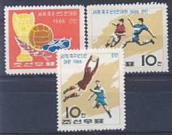 COREE NORD 0682/84 Football - Coupe Du Monde - Londres 1966 - Coupe Du Monde