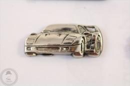 Ferrari F40, Chromed - Pin Badge #PLS - Ferrari