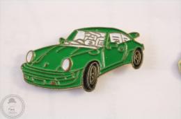 Porsche 911 Green Colour  - Pin Badge #PLS - Porsche