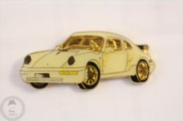 Porsche 911 White Colour  - Pin Badge #PLS - Porsche
