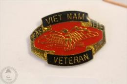 Military American Eagle - Vietnam Veteran 1915 - Pin Badge #PLS - Militares