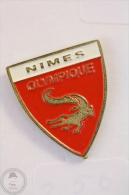 Nimes Olympique Footbal Team - Pin Badge #PLS - Fútbol