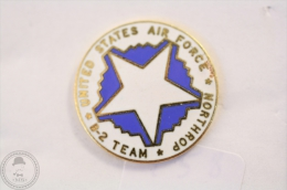 United States Air Forces B- 2 Team - Northrop - Pin Badge #PLS - Militares