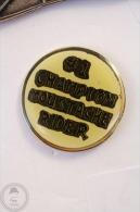 #1 Champion Moustache Rider - Pin Badge #PLS - Motos