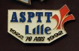 "LILLE ""ASPTT 70 Ans "" Neuf  Ble1 - Città"