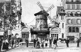 (O) Reproduction Theme  Paris Avec Explication Aux Dos  5 Cartes - Cartoline
