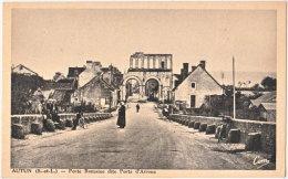 71. AUTUN. Porte Romaine Dite Porte D'Arroux - Autun