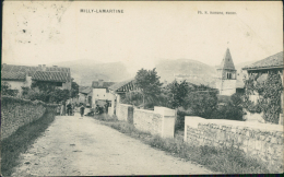 71 MILLY LAMARTINE / église De Milly  Vue Depuis Route / - Frankreich