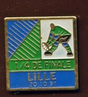 "LILLE ""Rugby"" 1/4 De Finale 20 10 91   Neuf Ble1 - Steden"
