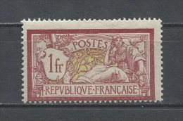FRANCE 1900  N° 121 ** Neuf MNH TTB  C  110 €  Type Merson - France