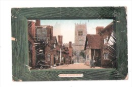 Cheshire  Great Budworth Nr Northwich USED 1911 Babbacombe CHESHIRE POSTCARD WORN - England