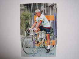 CYCLISME CICLISMO RADSPORT WIELRENNEN :  Idrio BUI  GHIGI  1960     Reproduction - Cyclisme