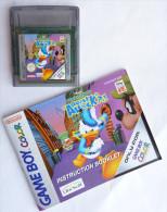 JEU NINTENDO GAME BOY Color - DONALD DUCK QUACK ATTACK  ?!  Avec Livret - Nintendo Game Boy