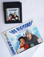 JEU NINTENDO GAME BOY -  LES VISITEURS  Avec Livret - Nintendo Game Boy