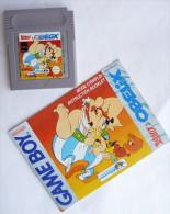JEU NINTENDO GAME BOY -  ASTERIX ET OBELIX  Avec Livret - Nintendo Game Boy