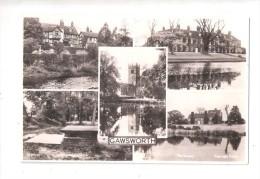 GAWSWORTH MULTIVIEW POSTCARD Near Macclesfield CHESHIRE Unused - England