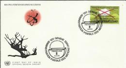 ONU UNO NACIONES UNIDAS GENEVE SPD  1972 CONTRA LA PROLIFERACION DE LAS ARMAS NUCLEARES ATOMO - Atomenergie