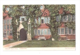TABLEY OLD HALL NEAR KNUTSFORD Cheshire Used 1904 - England