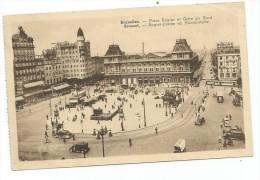 Bruxelles    Place Rogier Et Gare Du Nord - Chemins De Fer, Gares