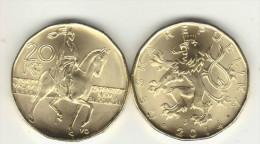 CZECH REP.new Krone 20 Kr...< 2014 >... - Czech Republic