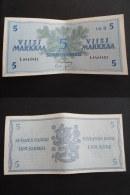 1963 - BILLET 5 MARKKAA FINLANDE FINLAND - L 6463401 - Finland