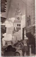 CPSM - TANGER (Maroc) - Eglise Espagnole - Petit Socco Et Rue Siaghines - Tanger