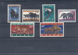 140013676  RUANDA  URUNDI  YVERT  Nº  205/216B  */MH - Ruanda