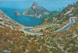 Mallorca Formentor Citroen DS ID Rouge Ou Orange Capucine Seule - Non Classés