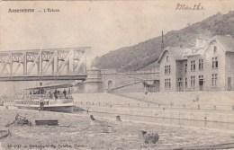 Anseremme  L'écluse  Circulé En 1906 Bien Animé - Dinant