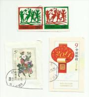 Chine Entiers Découpés - 1949 - ... Volksrepublik