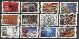 N226.-.France - 2014 - Complete Set X 12 Stamps  - The Dynamics - Oblitérés