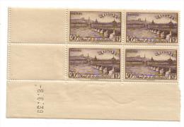 1939 - Coin Daté Neuf ** - N°450 Lyon - Côte 8,50euros - 1930-1939