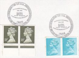 1971  EVENT COVER SARSA Soldiers Airmen SCRIPTURE READERS Asoc BRITISH FORCES Gb Stamps Religion Christianity Bible - Christianity