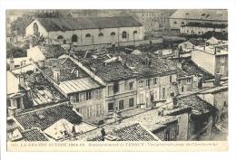 Cp, Militaria, Guerre 14-18, Bombardement De Verdun, VUe Générale Prise De L´Archévêché, écrite 1916 - Guerre 1914-18