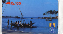 TELECARTE  SRI LANKA  Rs 100  Blister - Sri Lanka (Ceylon)
