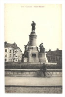 Cp, 59, Lille, Statue Pasteur - Lille